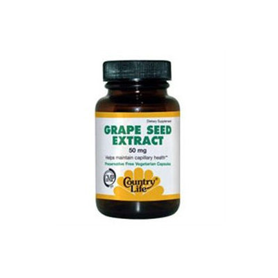 Country Life Grape Seed Extract 50 Mg 24 Caps