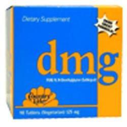 Country Life - DMG Pure NN-Dimethylglycine Sublingual 125 mg. - 90 Vegetarian Tablets