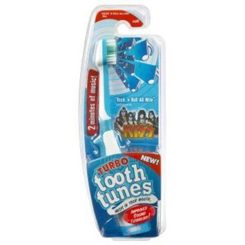 Turbo Tooth Tunes Battery Powered Toothbrush, Kiss