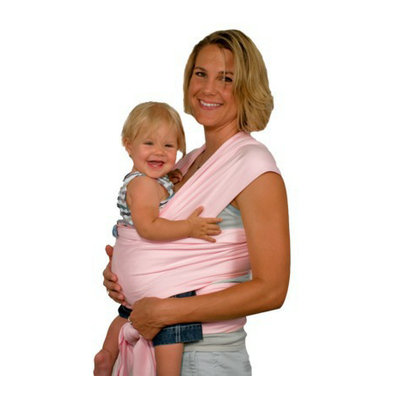 Moby Wrap Baby Carrier- Pink by