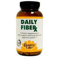Country Life - Daily Fiber-X - 180 Vegetarian Capsules