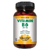 Vitamin B-6 200 Mg 90 Vcap By Country Life Vitamins (1 Each)