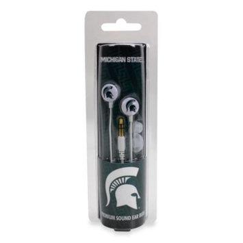 Usdigitalmedia,inc AudioSpice Michigan State Spartans Ignition Earbuds