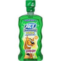 ACT Anticavity Kids Scooby-Doo! Kiwi Watermelon Alcohol Free Fluoride Rinse