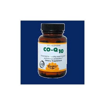 Co Q10 60mg Super 60 Vcap By Country Life Vitamins (1 Each)
