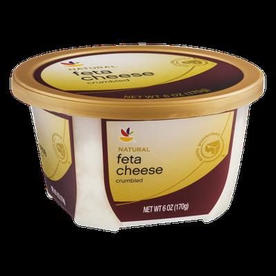 Ahold Feta Cheese Crumbled