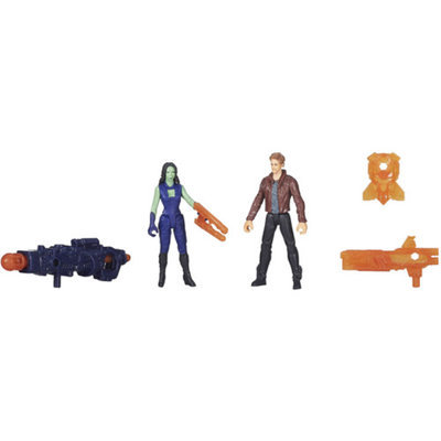GUARDIANS OF THE GAL Marvel Guardians Of The Galaxy 2-Pack Star-Lord And Gamora Action Figures