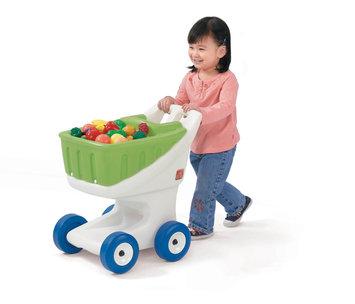 Step2 Little Helper's Grocery Cart - Green