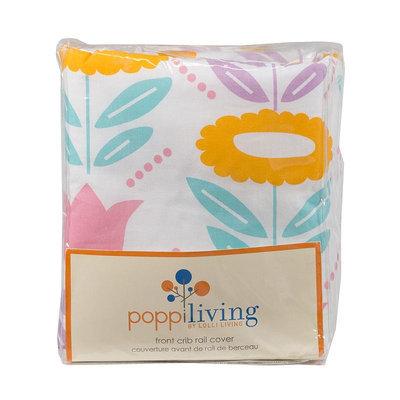 Poppi Living Flower Front Crib Rail Cover, Multicolor