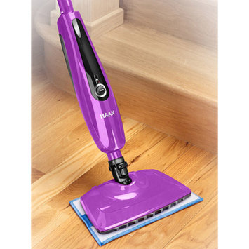 HAAN SI45 SlimPro Steam Mop With Two Pads, Purple, Refurbished