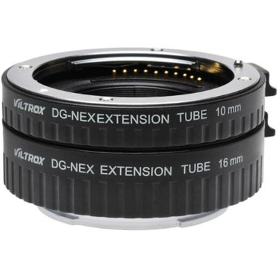 dlc Automatic Macro Extension Tube Set for Sony Alpha E-Mount / NEX