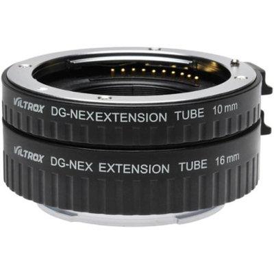 dlc Automatic Macro Extension Tube Set for Sony Alpha E-Mount / NEX