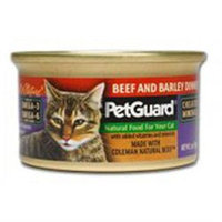 Petguard Canned Cat Food Beef Barley Dinner Beef Barley Dinner 3 Oz