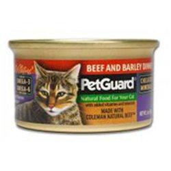 Petguard Canned Cat Food Beef Barley Dinner Beef Barley Dinner 3 Oz