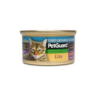 PetGuard Canned Cat Food Lite Turkey and Barley Dinner - 3 oz