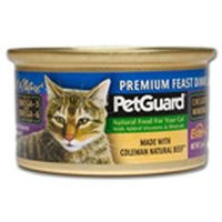 PetGuard Canned Cat Food Premium Feast Dinner - 3 oz