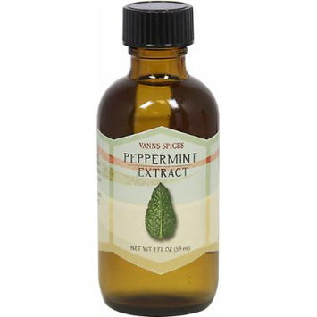 Vanns Peppermint Flavor Extract-2 fl oz Liquid