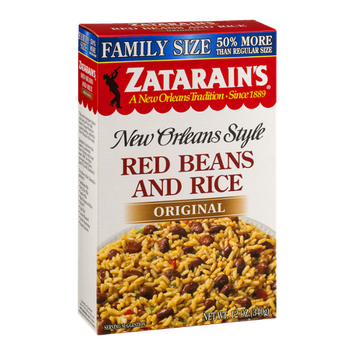 Zatarain's New Orleans Style Red Beans And Rice Original
