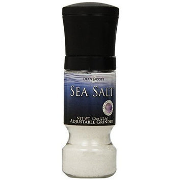Dean Jacob's Dean Jacobs Sea Salt Gripper Grinder Mill, 7.5-Ounce (Pack of 6)
