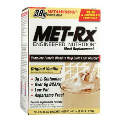 Met-Rx Meal Replacement Vanilla 18 Pack