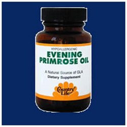 Country Life - Evening Primrose Oil 500 mg. - 60 Softgels