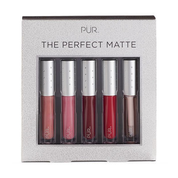 PUR Cosmetics Velvet Matte Liquid Lipstick Collection Kit, Multicolor