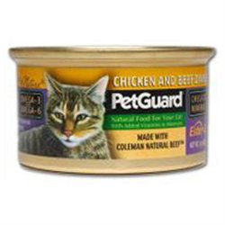 Petguard Canned Cat Food Chicken And Beef Dinner Chicken And Beef