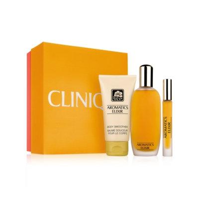 Clinique Aromatics Elixir Essentials skincare Set