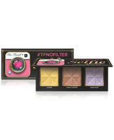 Too Faced Tfnofilter Selfie Powders Sunrise/ Totally Toasted/ Moon River 3 x 0.14 oz