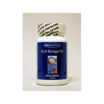 Allergy Research Group - GLA Borage Oil 1300 mg 30 gels
