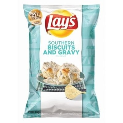 Lay's Do Us a Flavor Finalist Flavor #1 Potato Chips, 8 Oz (Pack of 4)