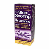 Essential Health Products Essential Health Helps Stop Snoring Throat Spray 2 fl oz