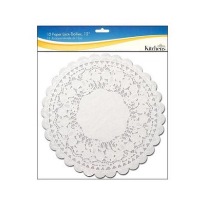 Fox Run Craftsmen Fox Run White Paper Lace Doilies - 12