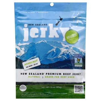 New Zealand Jerky JERKY, BEEF, ORIGINAL, (Pack of 8)
