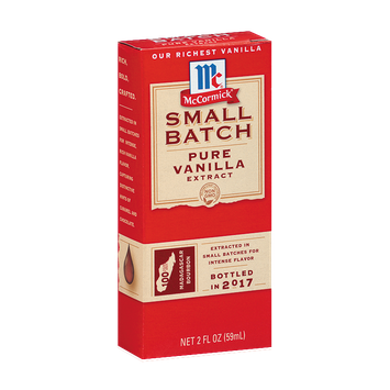 McCormick® Small Batch Pure Vanilla Extract