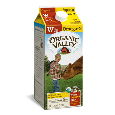 Organic Valley® Omega-3 Whole Milk, Ultra Pasteurized