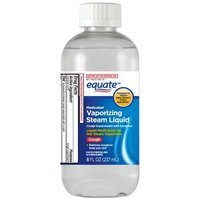 Equate Medicated Vaporizing Steam Liquid, 8 fl oz