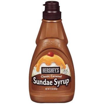 Hershey's Classic Caramel Sundae Syrup - 15 oz. Squeeze Bottle