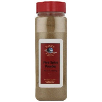 Taste Specialty Foods, Five Spice Powder, 16-Ounce Jars (Pack of 2)