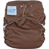 Oh Katy One Size Pocket Diaper, Chocolate