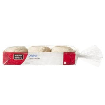 market pantry Market Pantry English Muffins - 6 ct. 12 oz.