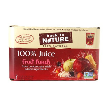 Back to Nature Fruit Punch, 48 oz