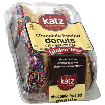 Katz Gluten Free Chocolate Frosted Donuts (11.5 Oz.)