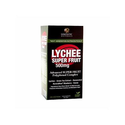 Genceutic Naturals Lychee Super Fruit 500 mg