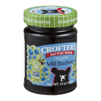 Crofter's Just Fruit Spread Organic Wild Blueberry