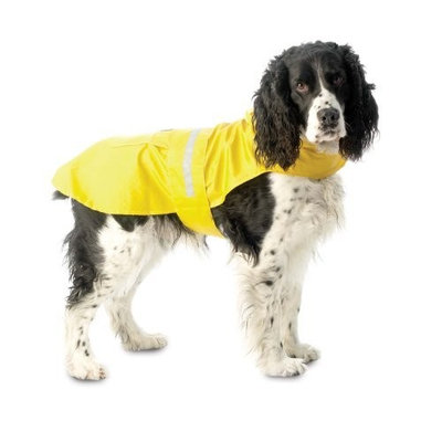 PetRageous Designs Ltd. PetRageous Seattle Slicker for Pets, Large, Yellow