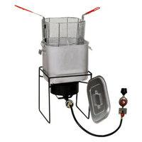 Metal Fusion Fry Bucket-Outdoor Cooker Set