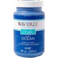 Waverly Inspirations Matte Chalk Finish Acrylic Paint by Plaid, Ocean, 8 oz.