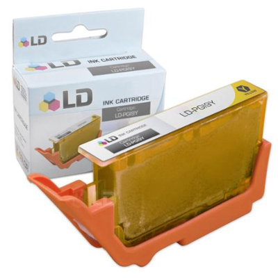 LD © Canon PGI9Y Yellow Compatible Inkjet Cartridge W/ Chip for Pixma MX7600 & Pro9500