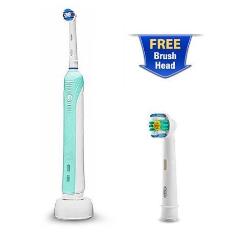 Oral-B Precision 1000 Toothbrush (W/Bonus Precision Clean Brush Head)
